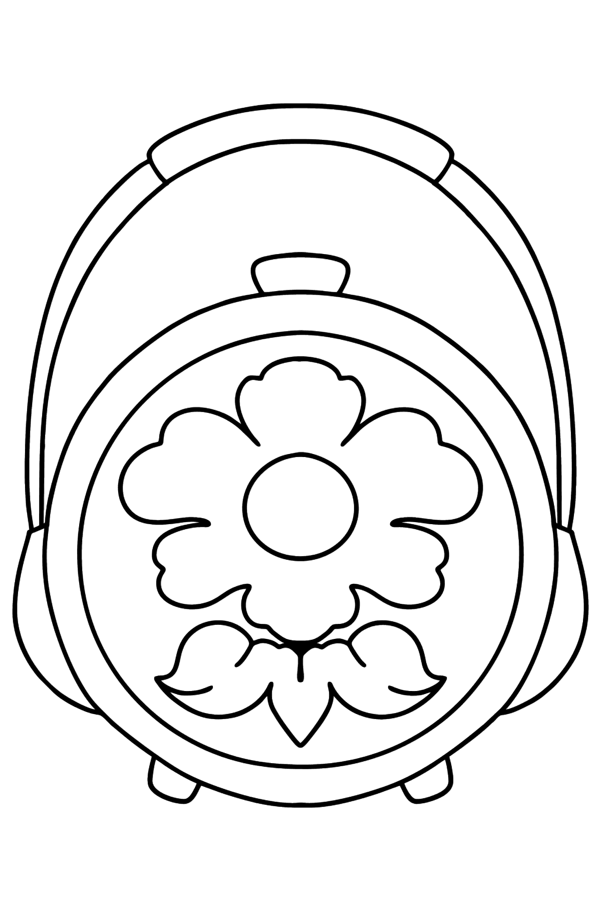Beautiful Bag coloring page - Coloring Pages for Kids