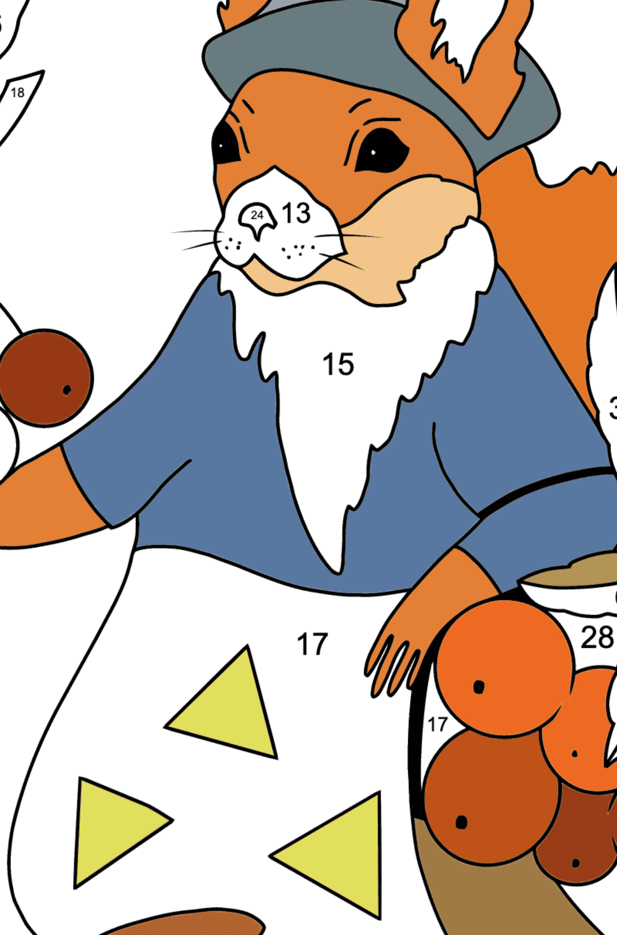 Coloring Pages by Numbers