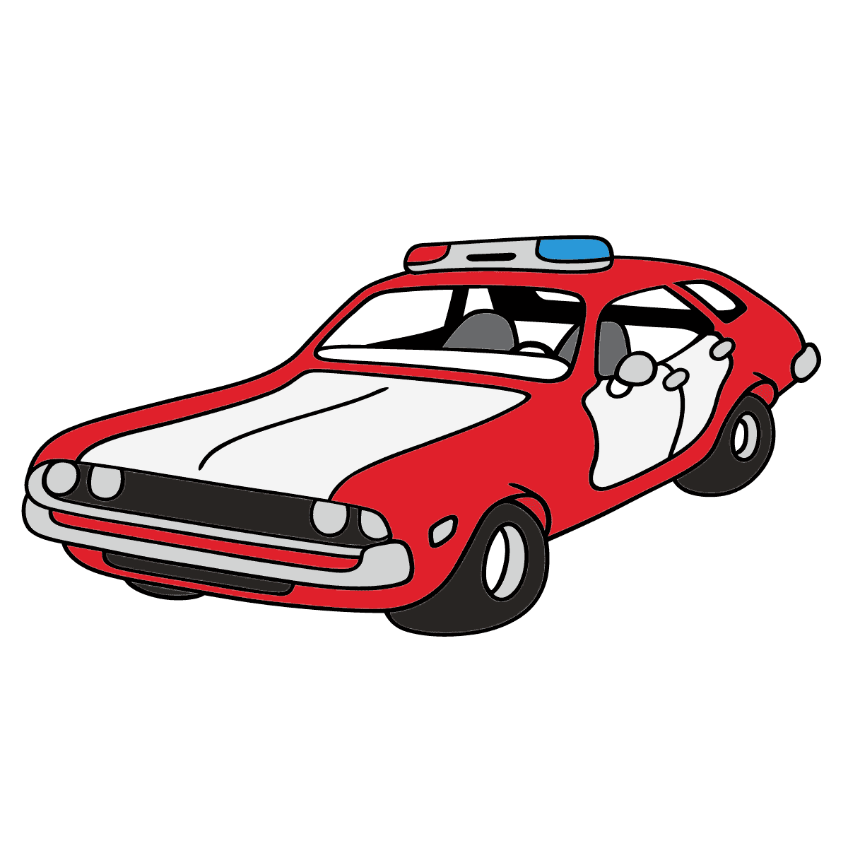 polizeiauto ausmalbild  ausmalbilder polizei poizeiauto