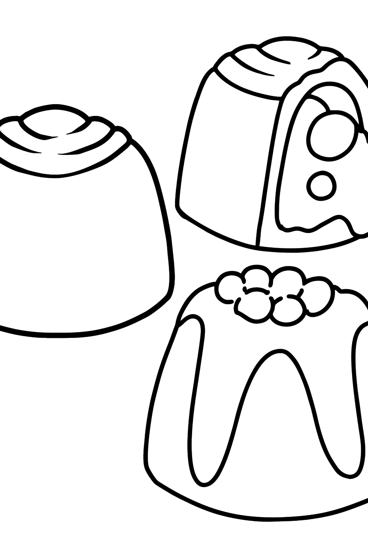 Chocolate Candy coloring page - Coloring Pages for Kids