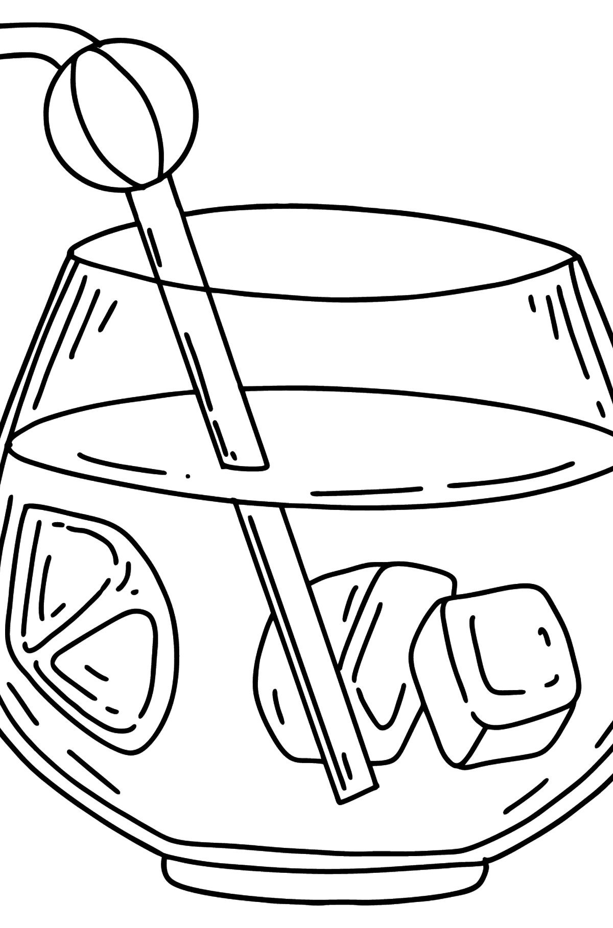 Fresh Juice coloring page - Coloring Pages for Kids