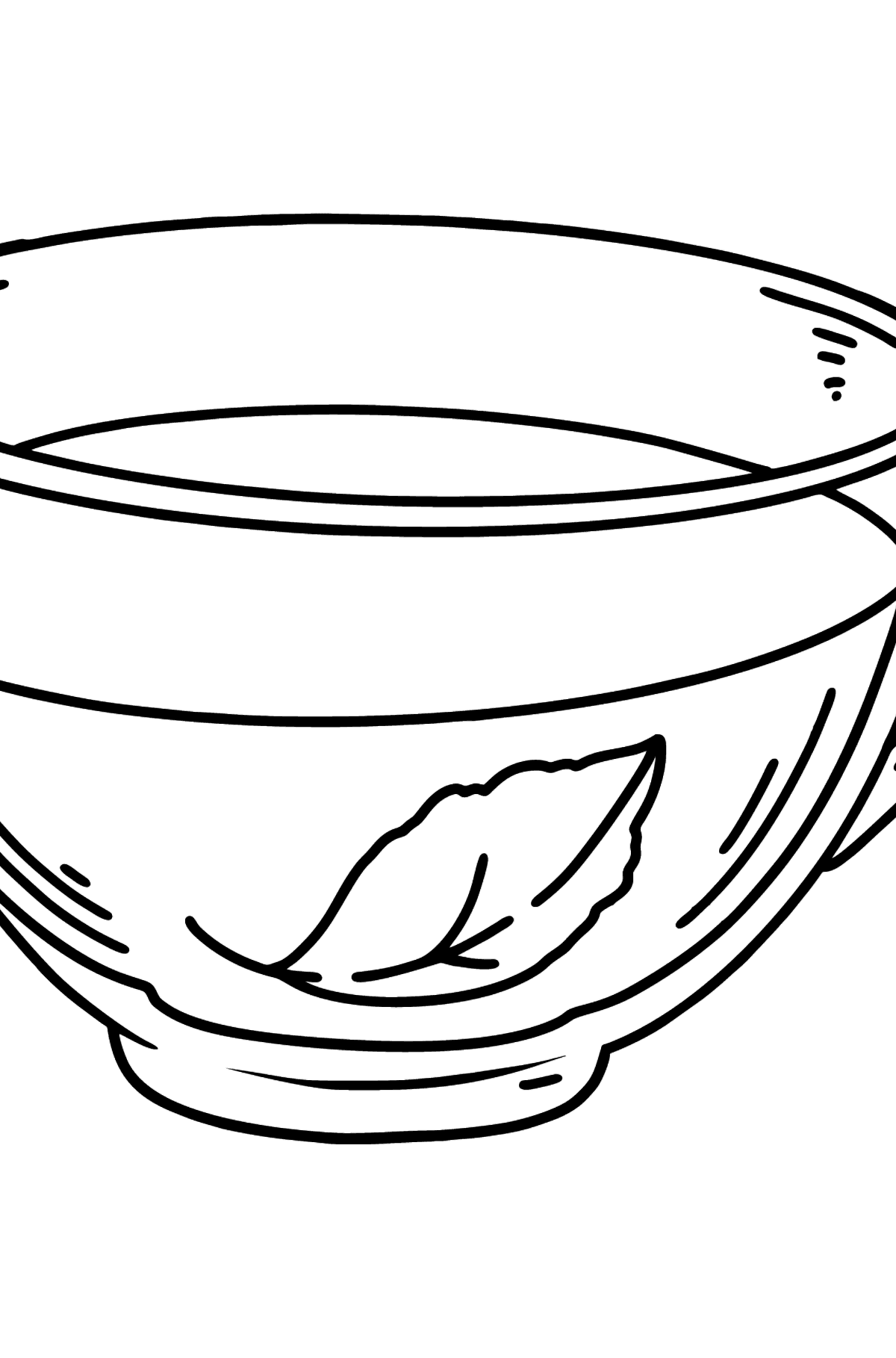 Green Tea coloring page - Coloring Pages for Kids