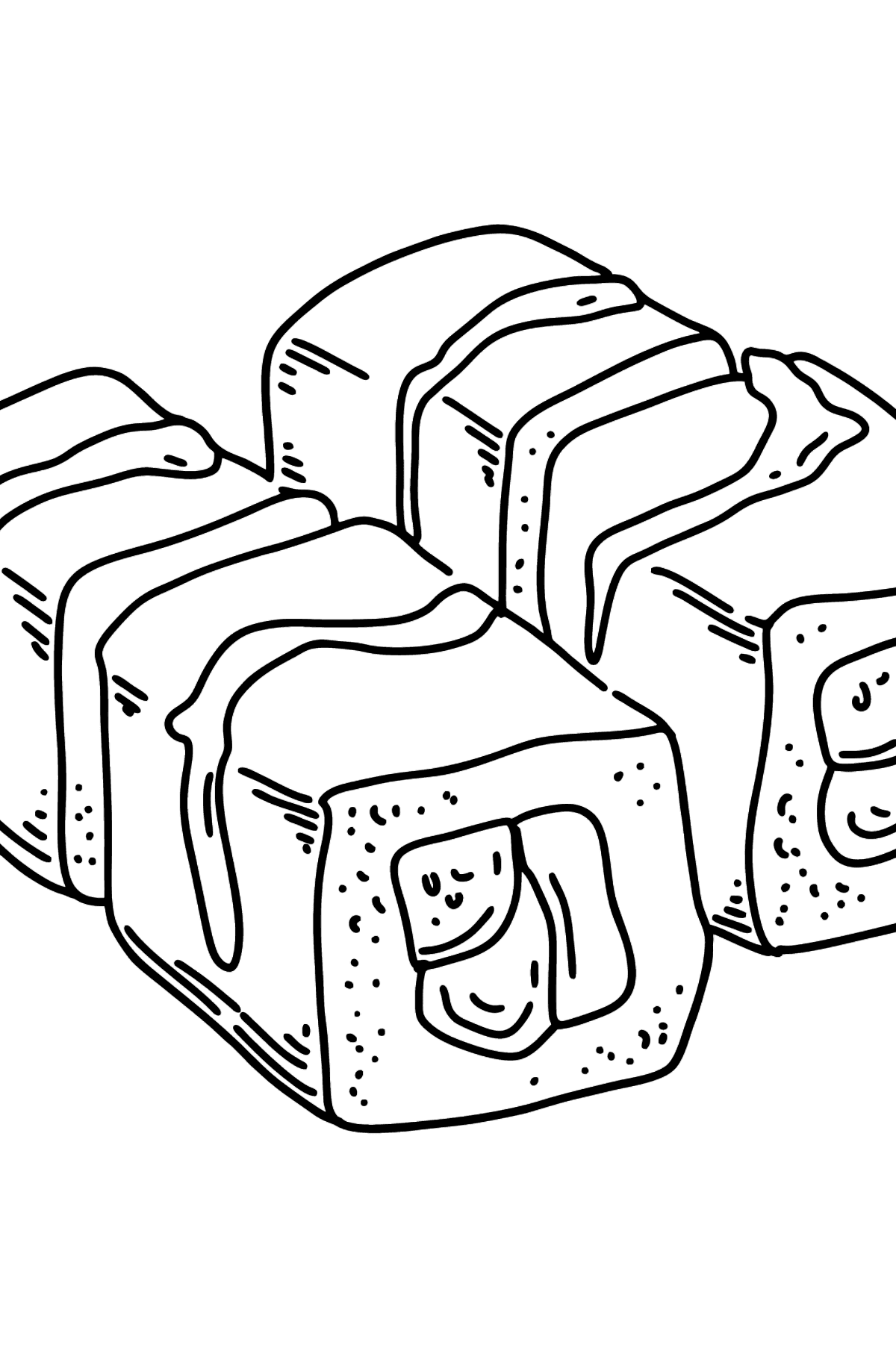 Rolls coloring page - Coloring Pages for Kids