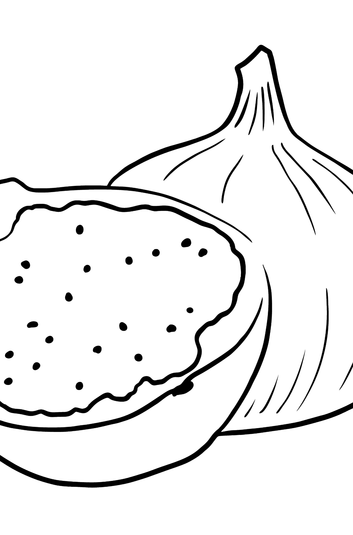 Fig coloring page - Coloring Pages for Kids