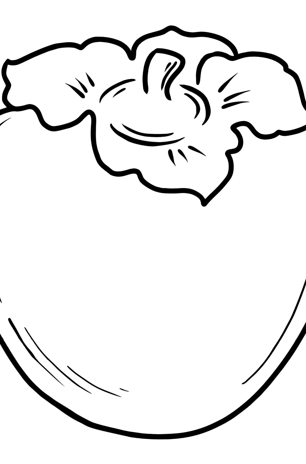 Persimmon coloring page - Coloring Pages for Kids