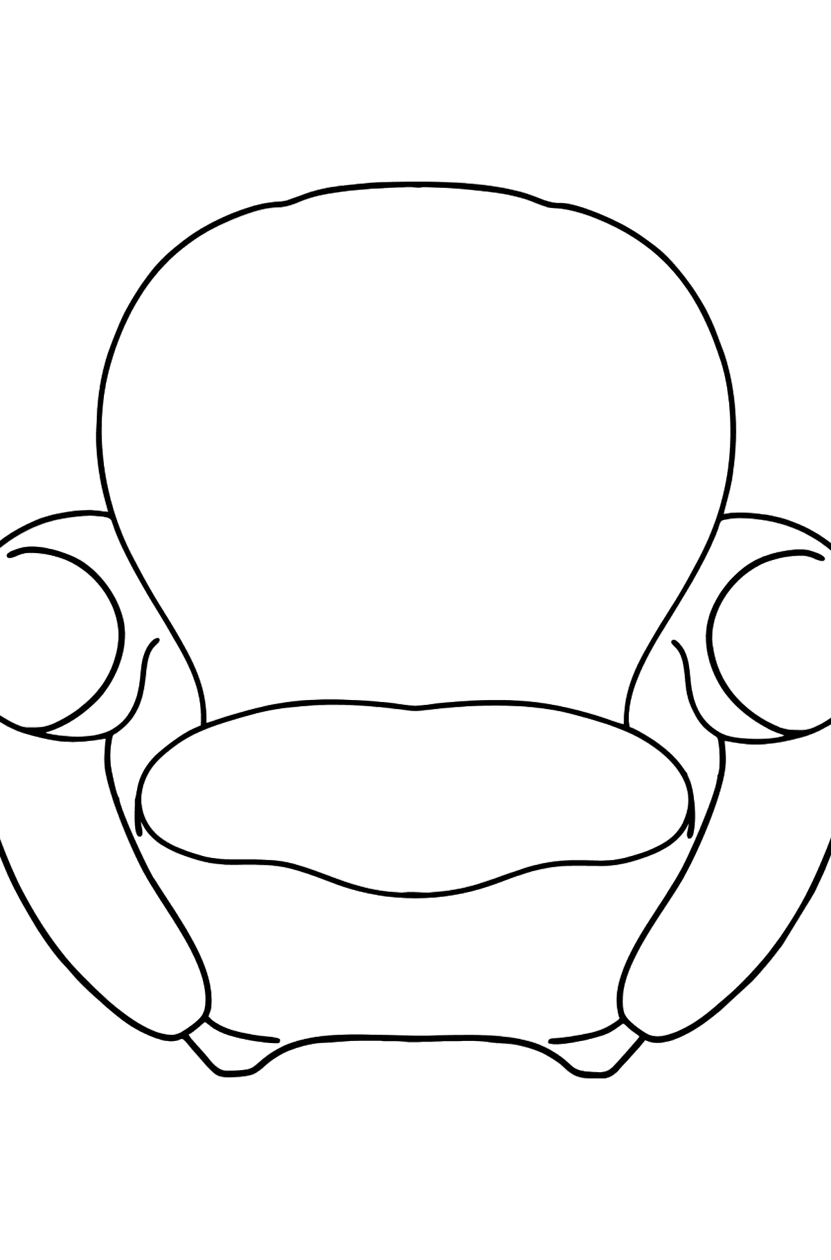 Chair coloring page - Coloring Pages for Kids
