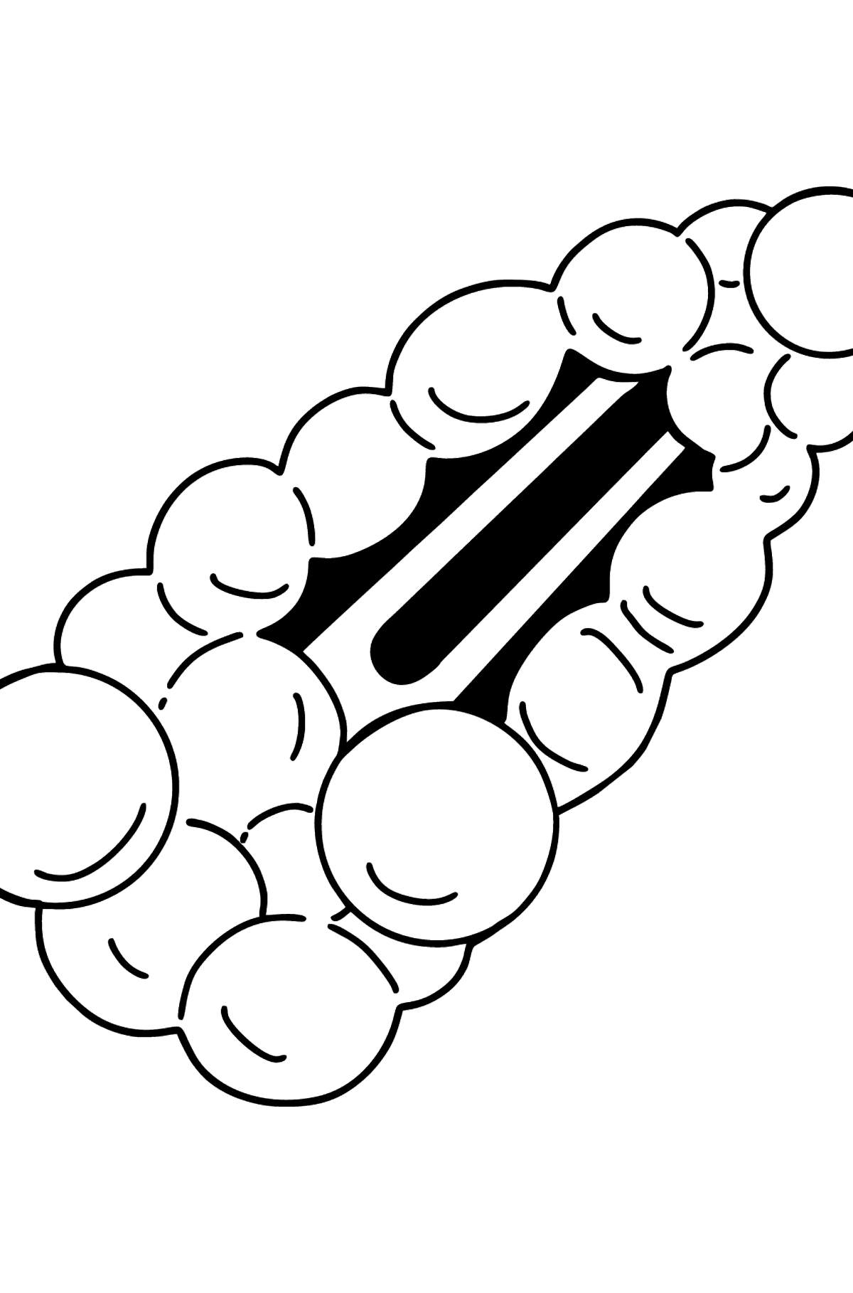 Barrette coloring page - Coloring Pages for Kids