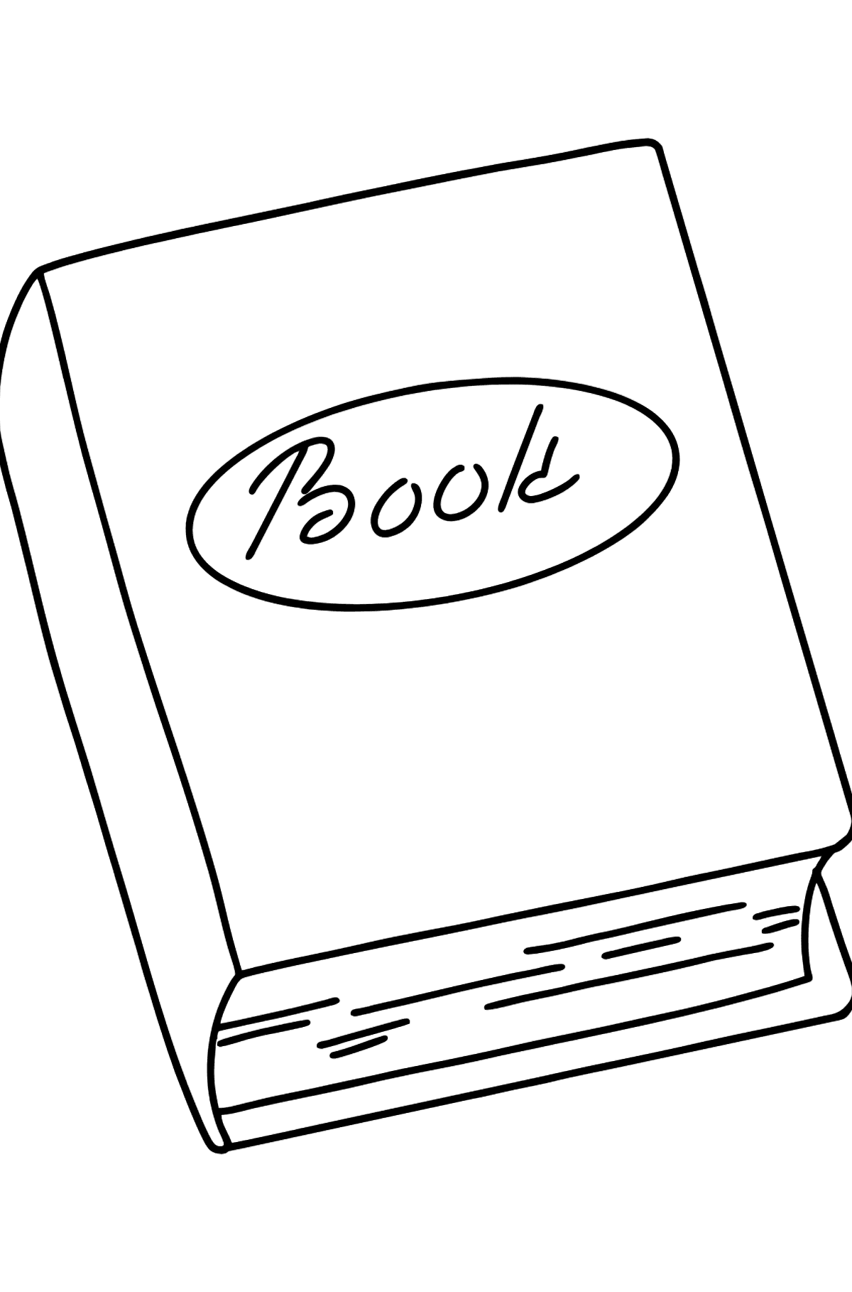 Book coloring page - Coloring Pages for Kids