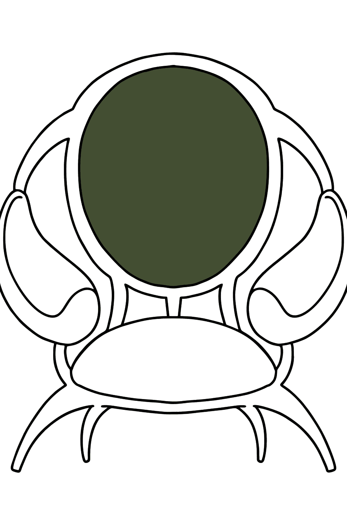 Soft Chair coloring page - Coloring Pages for Kids