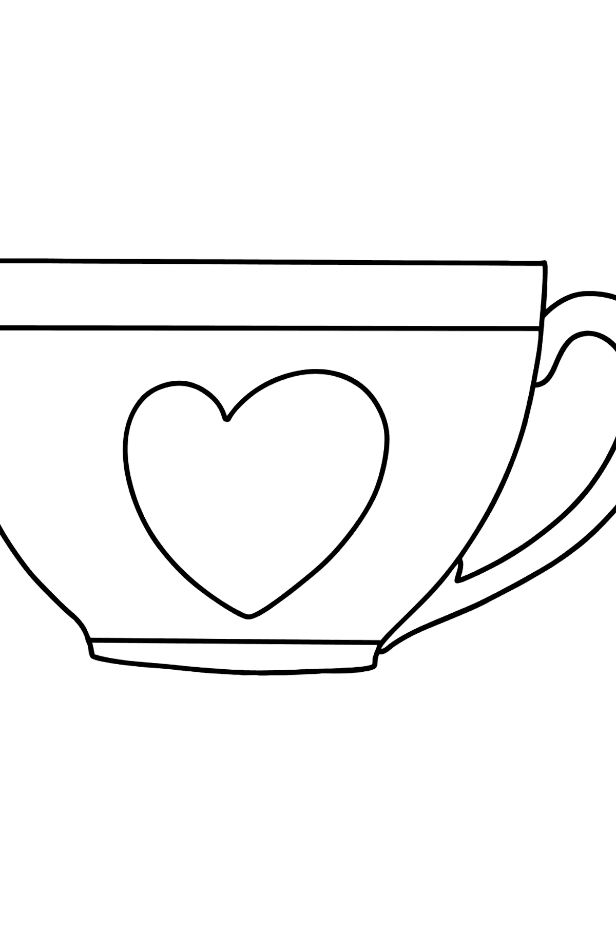 Cup coloring page - Coloring Pages for Kids