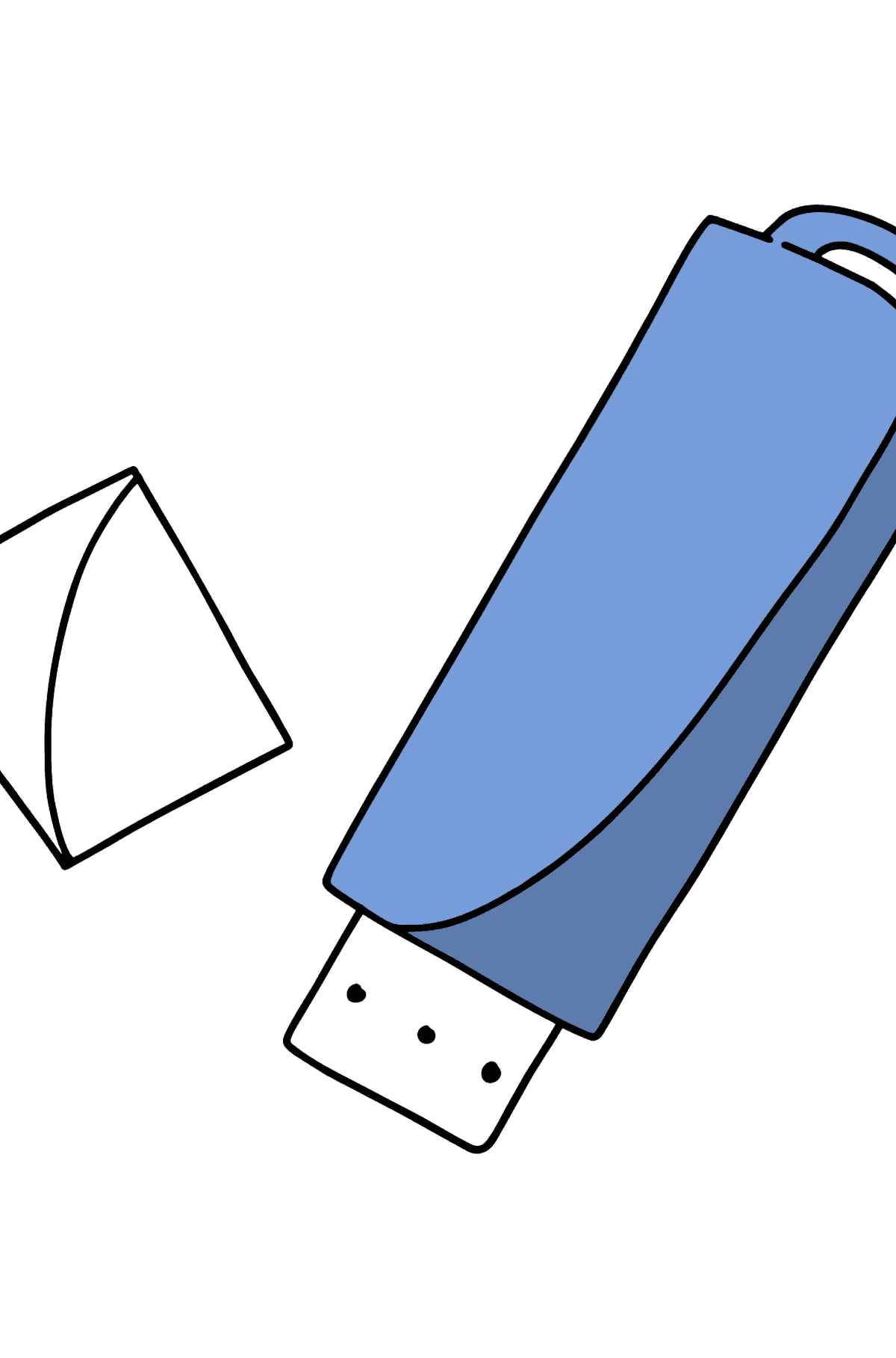 Flash Drive coloring page - Coloring Pages for Kids