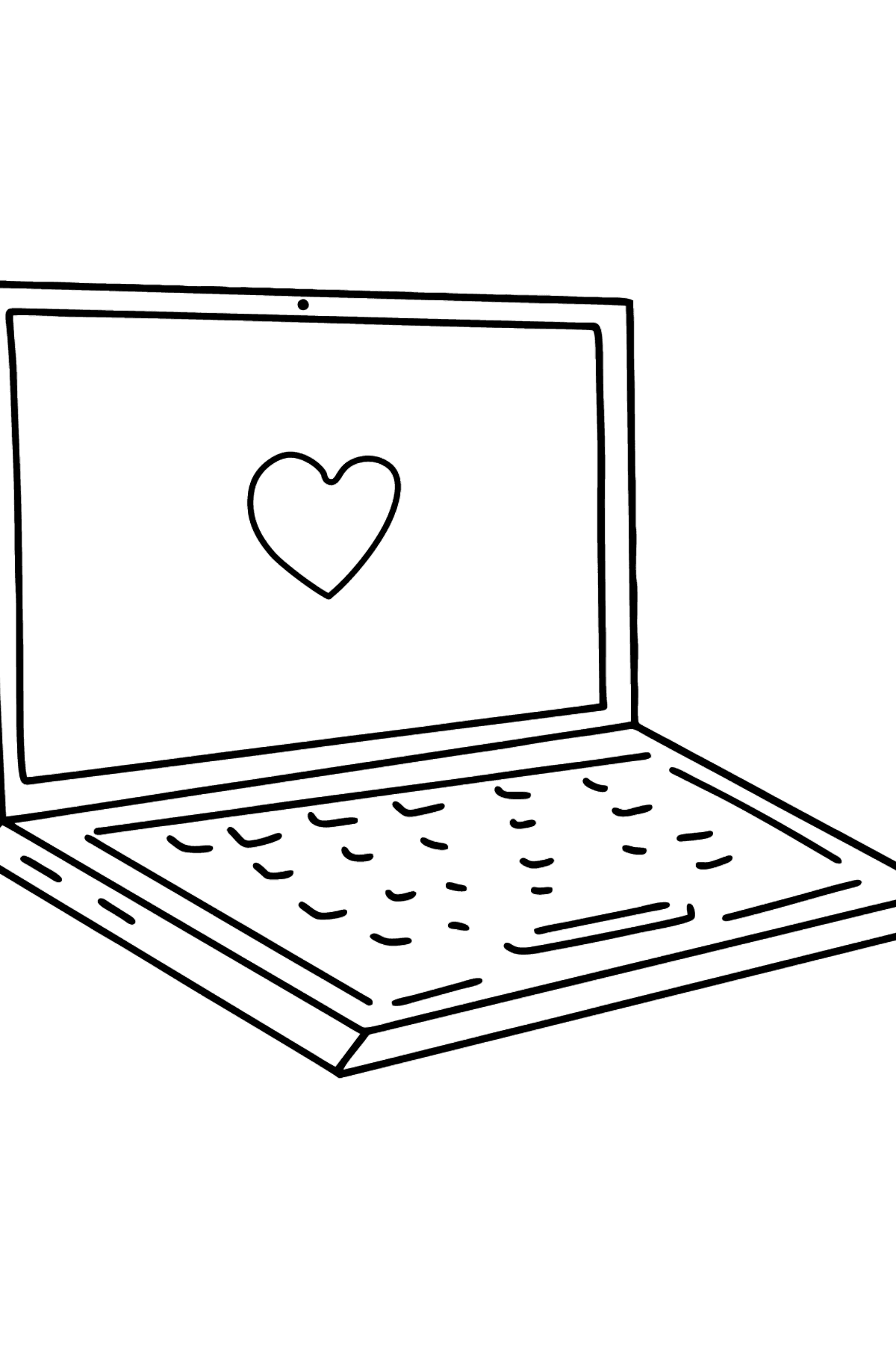 Notebook coloring page - Coloring Pages for Kids