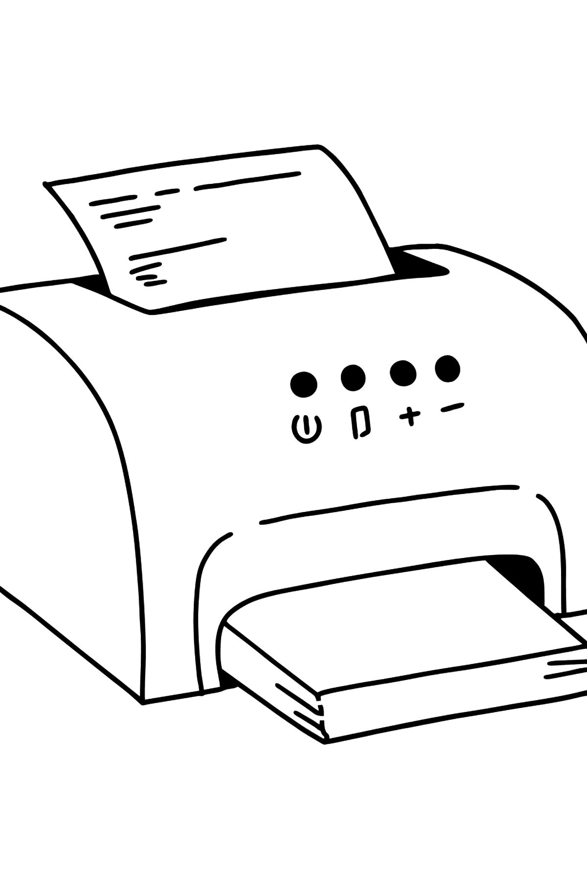 Printer coloring page - Coloring Pages for Kids