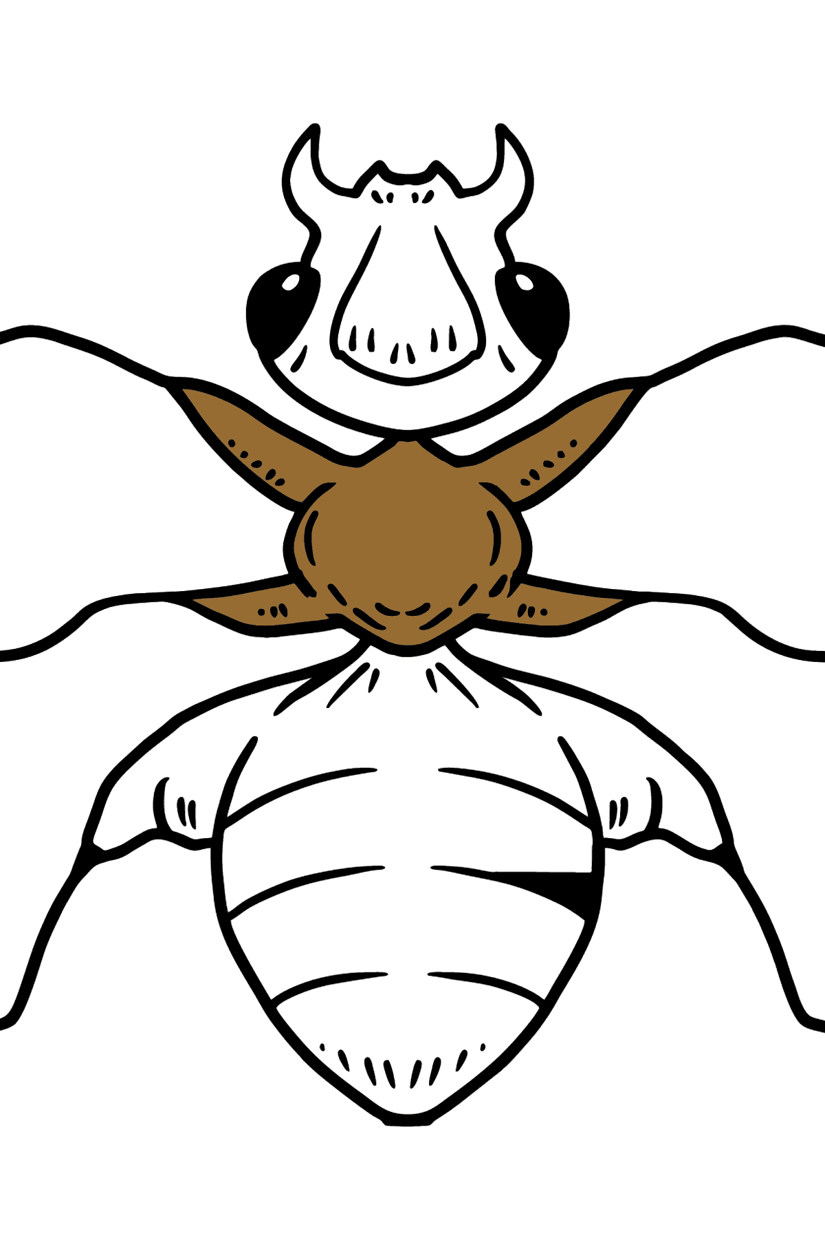 Ant coloring page - Coloring Pages for Kids