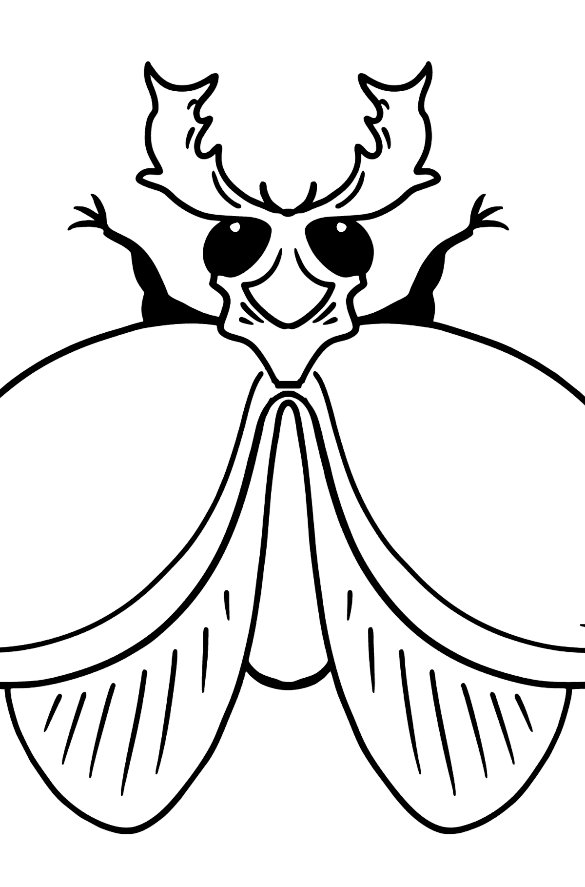 Beetle coloring page - Coloring Pages for Kids