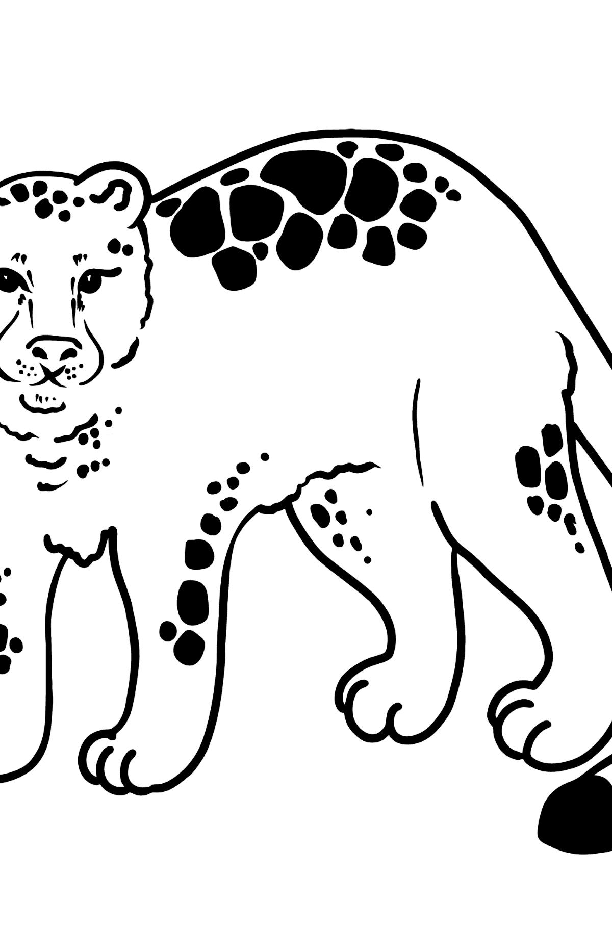 Jaguar coloring page - Coloring Pages for Kids