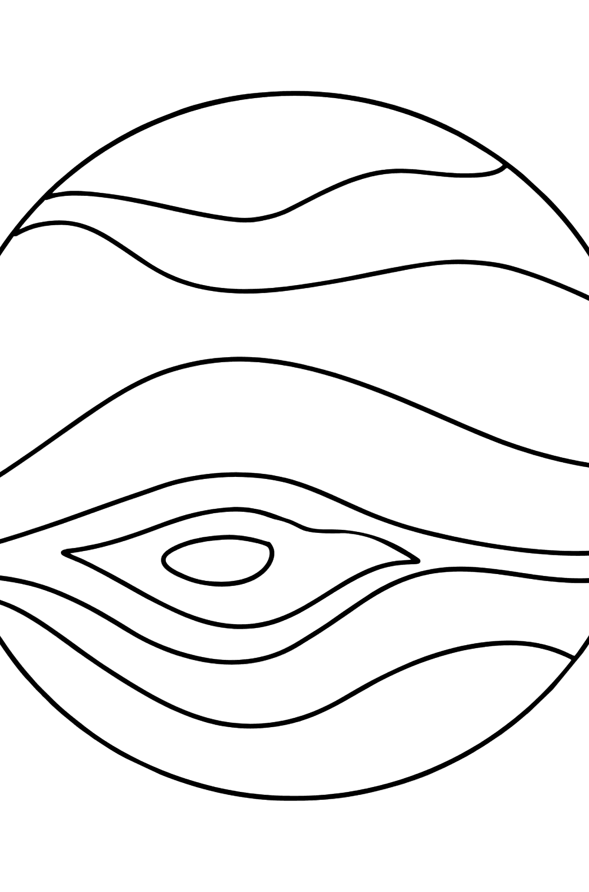 Jupiter coloring page - Coloring Pages for Kids