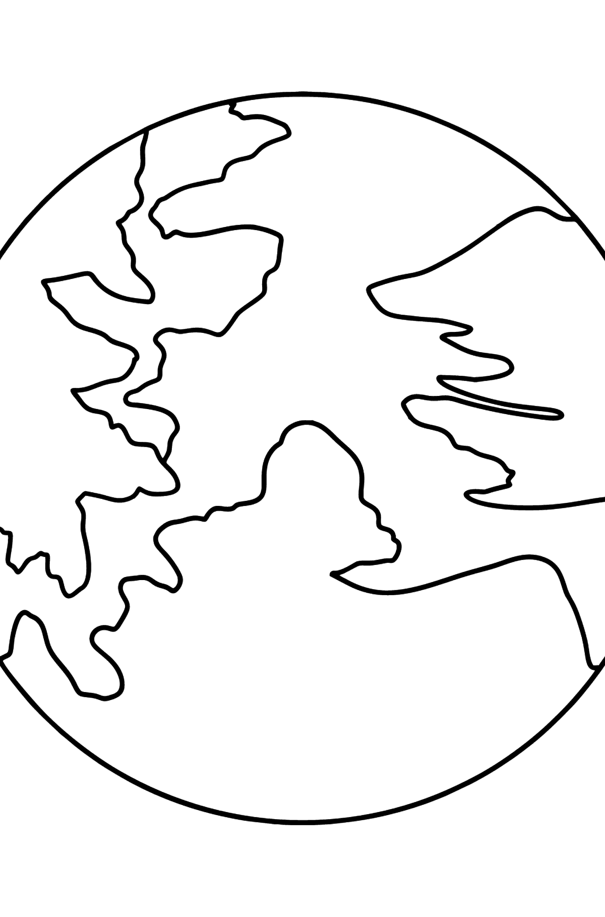 Pluto coloring page - Coloring Pages for Kids