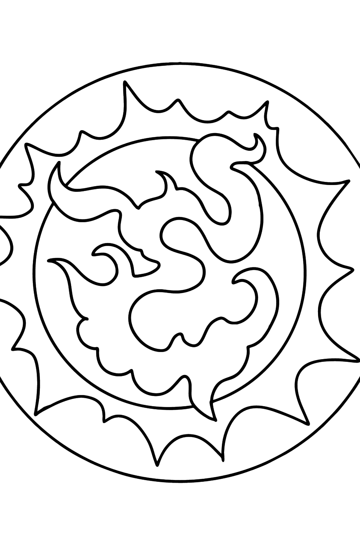 Star coloring page - Coloring Pages for Kids