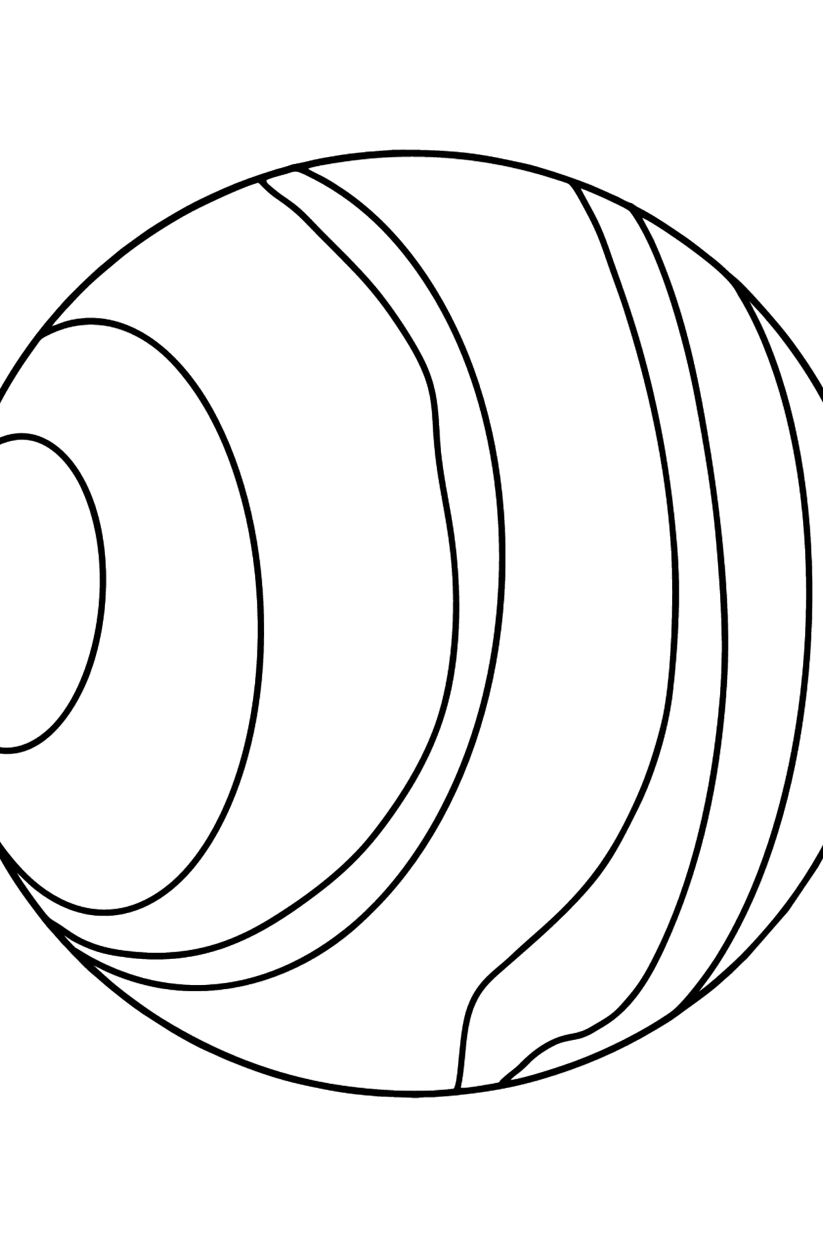 Uranus coloring page - Coloring Pages for Kids