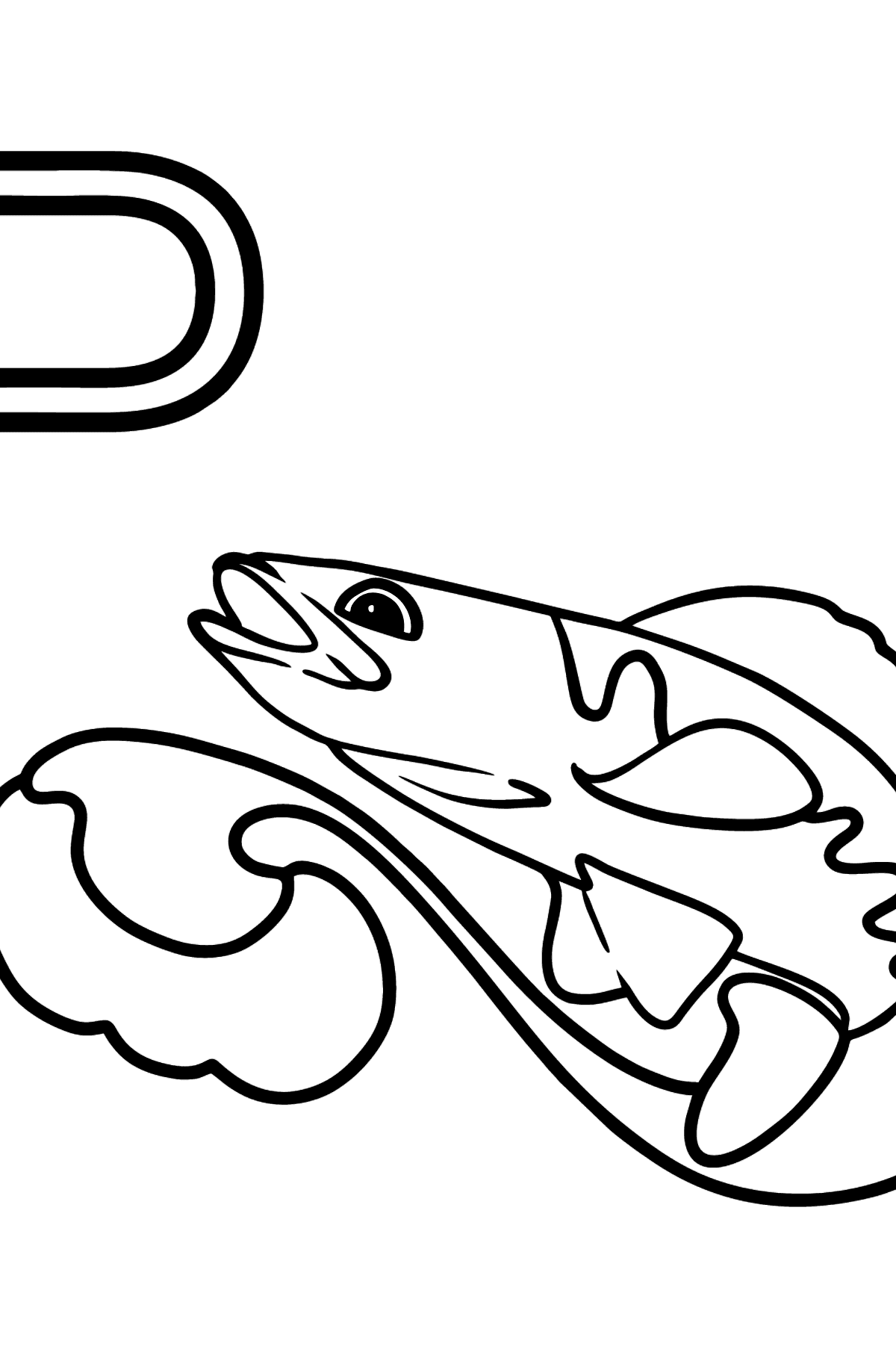Spanish Letter P coloring pages - PEZ - Coloring Pages for Kids