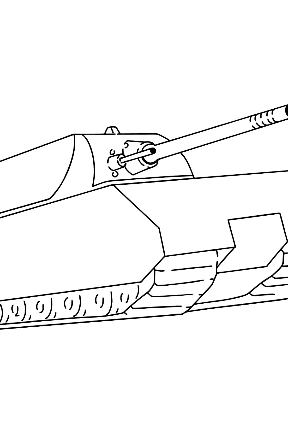 Coloriage de Tank Mouse - Coloriages pour les Enfants