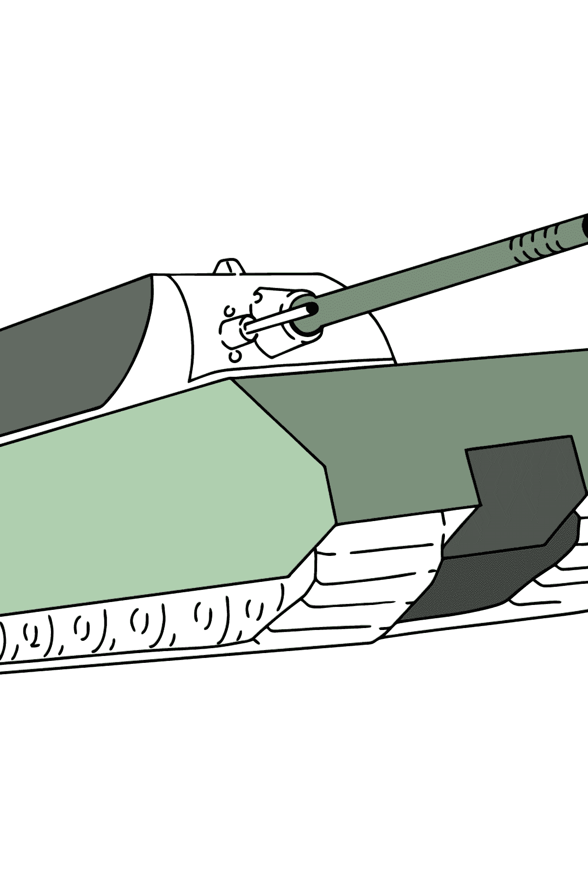 Tank Mouse coloring page - Coloring Pages for Kids