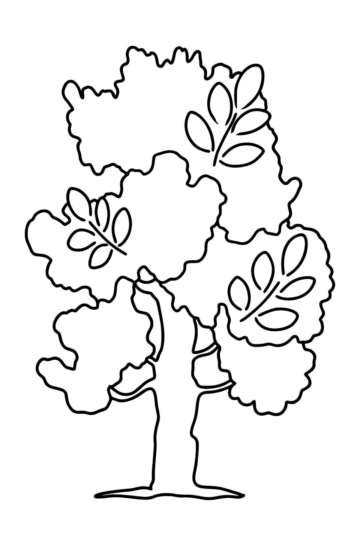 Ash Tree coloring page - Coloring Pages for Kids