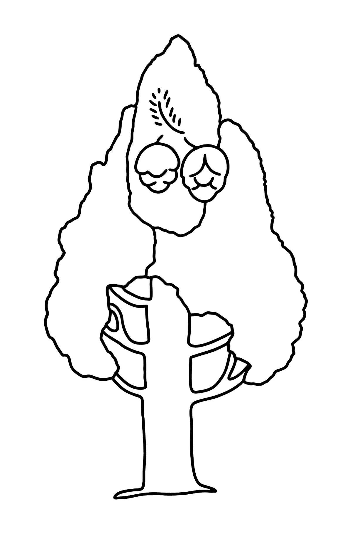 Larch coloring page - Coloring Pages for Kids